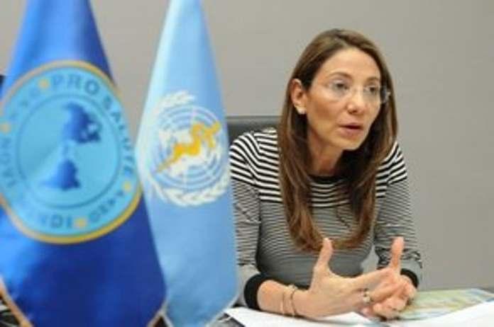 Doctora Alma Morales, representante OPS en el país