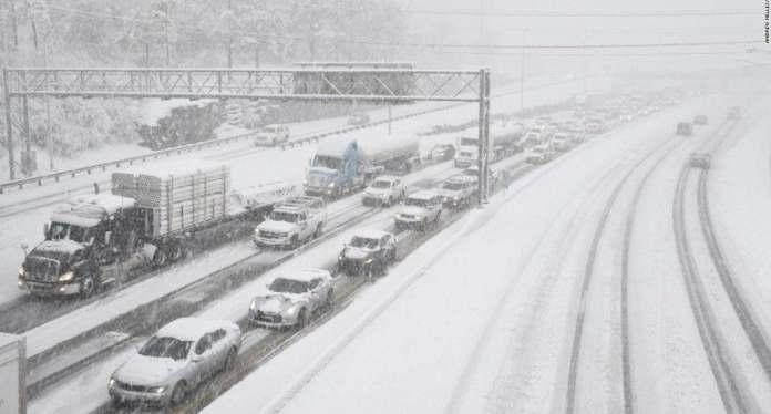 Poderosa tormenta de nieve golpeará NY y estados aledaños. FUENTE EXTERNA