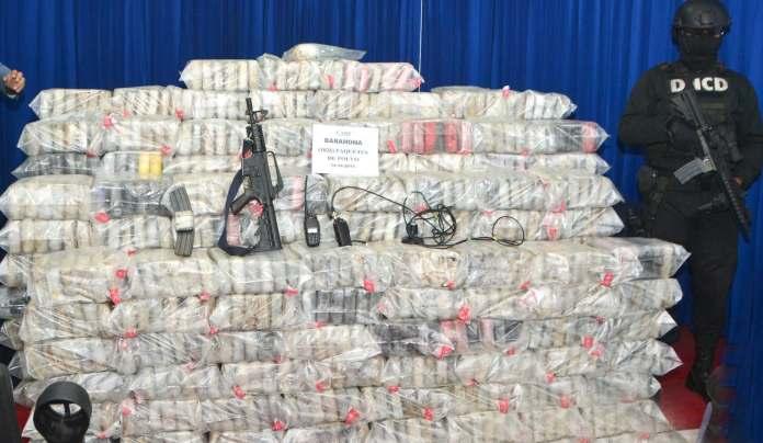 Droga en tiempos de pandemia: autoridades incautan mas de una tonelada de drogas en Multimodal Caucedo