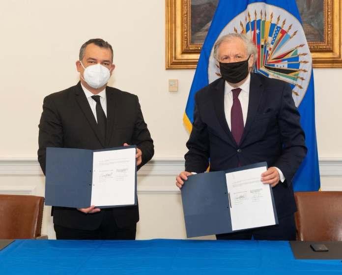 JCE y OEA firman acuerdo para promover calidad de los procesos electorales