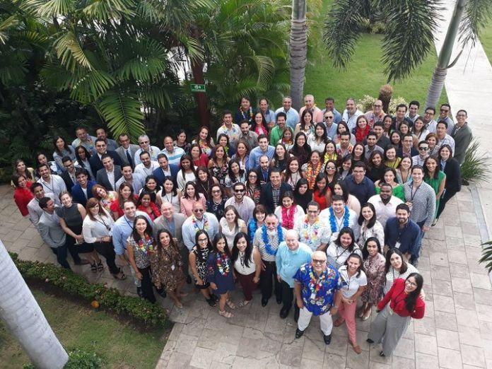 FOTO DE 2018: Congreso de Oftalmología de Graduados y Residentes Hospital Elias Santana.