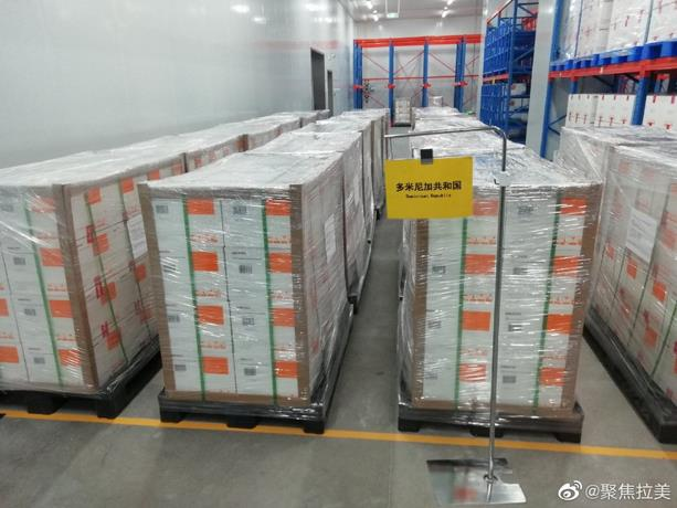 Las vacunas Sinovac ya son trasladadas de China a RD