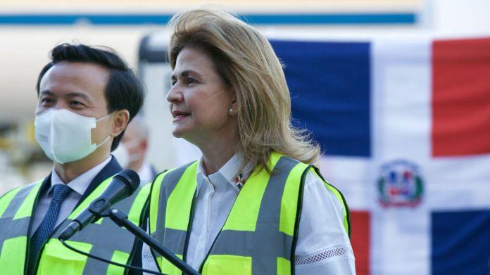 Vicepresidenta dice trabajan en logística para la distribución de las vacunas recibidas el miércoles