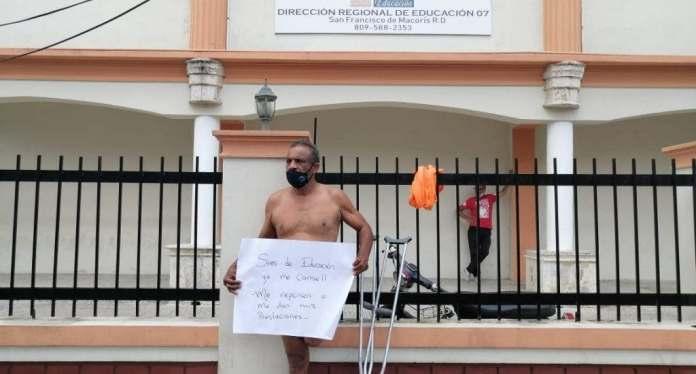 ¿Por qué se desnudó hombre con discapacidad motora en SFM?