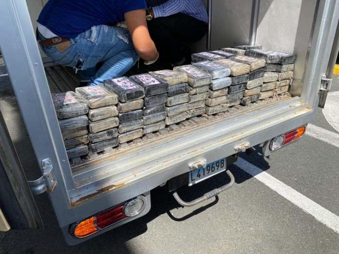 Apresan a dos hombres ocupándoles 100 paquetes de presunta en cocaína en Santo Domingo Este