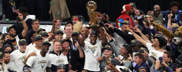 Bucks cortan sequía de títulos de 50 años para ser campeones de la NBA