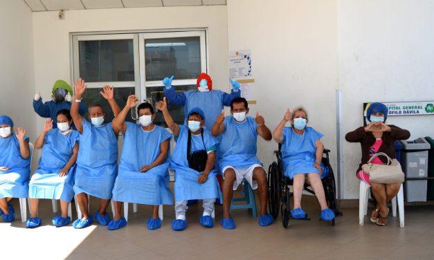 156 altas hospitalarias de pacientes Covid-19 en el Teófilo Dávila