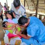 34 personas de la nacionalidad Waorani recibieron atención de una brigada médica