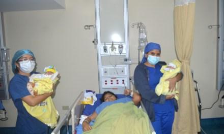Dos niños nacieron en Navidad en el Hospital Teófilo Dávila