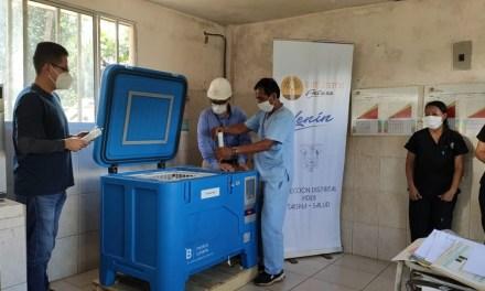 7 equipos de cadena de frío solares para vacunas se instalaron en zonas de difícil acceso