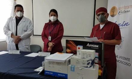 El Hospital Vicente Corral Moscoso de Cuenca recibe 5.000 pruebas PCR