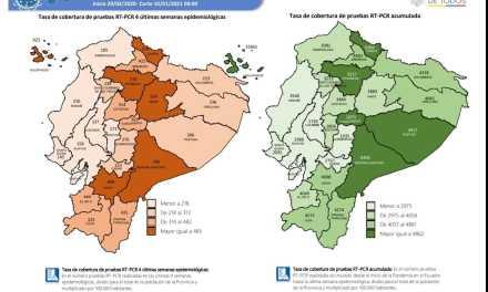 Las 24 provincias registran incremento de casos Covid-19 por  transmisión comunitaria