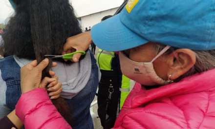 Pacientes del del área oncológica del hospital de SOLCA recibirán las pelucas de cabello natural