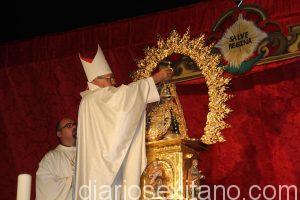 ARZOBISPO CORONA A LA PATRONA DE ALMUÑECAR VIRGEN DE LA ANTIGUA 16