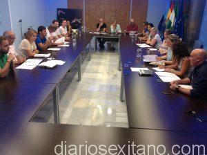 PLENO MUNICPAL EN SALON DE JUNTAS DEL CONSISTORIO SEXITANO 16