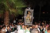 VIRGEN ANTIGUA PORTADA CAMINO DEL EMBARQUE EN PLAYA SAN CRISTOBAL 16