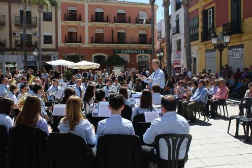 LUIS JAVIER CONTRERAS DIRIGIÓ LA BANDA MUNICIPAL DE MUSICA ALMUÑÉCAR 17