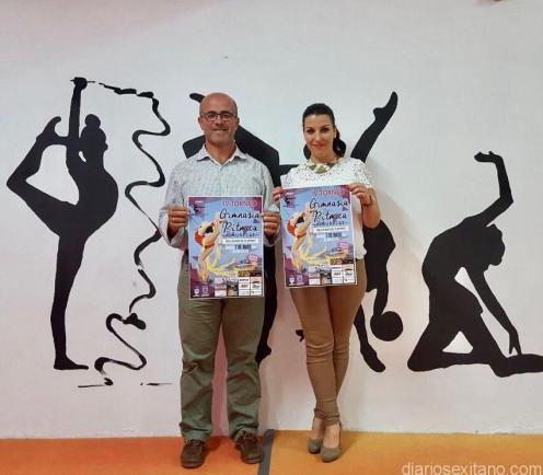 ACTO PRENTACION DEL EVENTO POR EL CONCEJAL DE DEPORTES LUIS ARAGON Y ZUZANA HANZLOVA 17