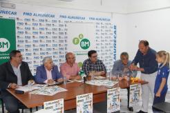 UN MOMENTO DEL SORTEO DE GRUPOS CAMPEONATO ANDALUCIA BALONMANO ALEVIN 17