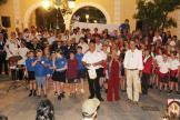 ACTO CLAUSURA ENTREGA DIPLOMAS Y REGALOS PARTICIPANTES FESTIVAL 17