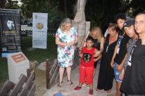 ACTO HOMENAJE A CAMARON DESCUBRIENDO PLACA CAMINO FLAMENCO ALMUÑECAR 17
