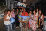 ARTISTAS DECORARON MACETEROS EN LA HERRADURA 17