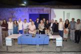 AUTORES Y PARTICIPANTES EN EL ACTO PRESENTACION LIBRO EN CASTILLO LA HERRADURA 17