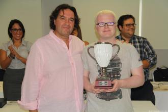 Alejandro Martínez Colomar de Ibiza gana el XIX Open FEDEC de Ajedrez Almuñécar 17