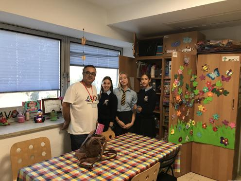 Alumnas visitaron las instalaciones de AVOI en hospital 17 (3)