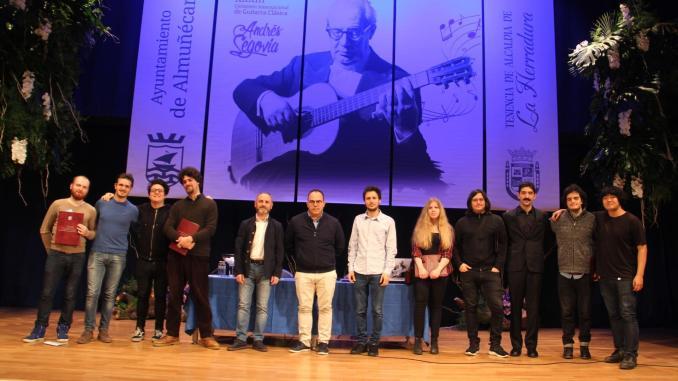 El guitarrista argentino Emilio Pérez abre esta tarde el 33
