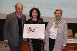 Eva Balaguer primer premio Cartas Amor y Desamor Almuñecar 2018