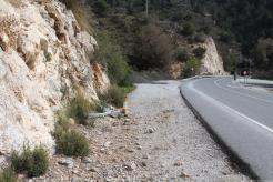Lugar del accidente de tráfico en CN 340 Cerro Gordo 18 1