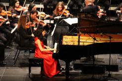 Noelia Rodiles durante el concierto en Almuñécar 18