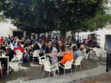Ambiente Viernes Santo en la popular plaza Los Higuitos Almuñécar 18