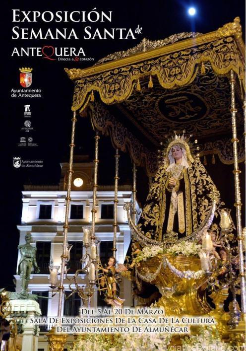 CARTEL EXPOSICION SEMANA SANTA DE ANTEQUERA EN ALMUÑECAR 18