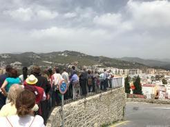 ELENA NAVAS DIRIGE LA VISITA ARQUEOLOGICA Y MONUMENTAL EN ALMUÑECAR (1)