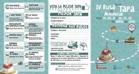 TRIPTICO RUTA TAPA ALMUÑECAR 2018