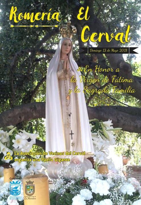 ESTE DOMINO FESTIVIDAD VIRGEN FATIMA SE CELEBRA ROMERIA EL CERVAL LA HERRADURA 18