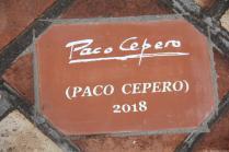 FIRMA PACO CEPERO EN EL CAMINO DEL FLAMENCO DE ALMUÑECAR 18