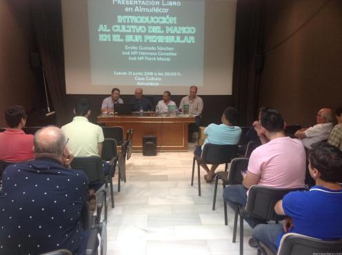 PRESENTACION LIBRO CULTIVO MANGO EN CASA CULTURA ALMUÑECAR 18