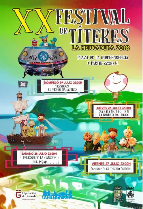 CARTEL XX FESTIVAL TITERES LA HERRADURA 18
