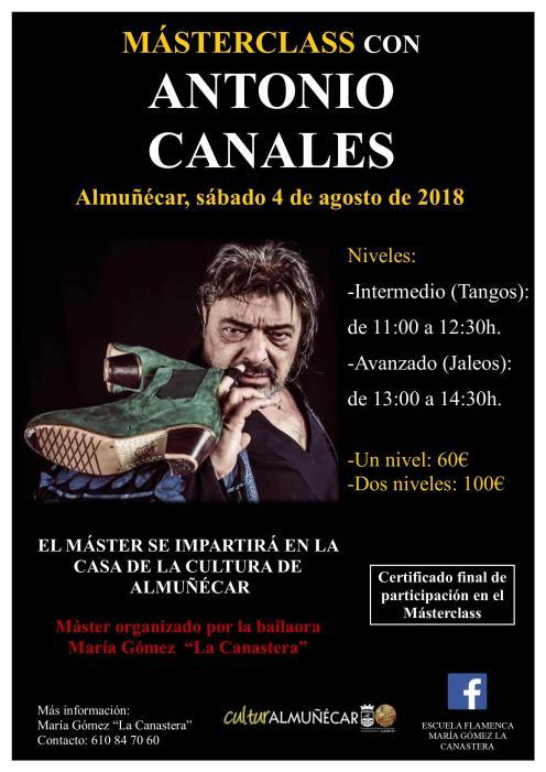 MASTERCLASS DE ANTONIO CANALES EN ALMUÑECAR 18