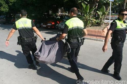 DECOMISO POLICIA LOCAL TOP MANTA 18