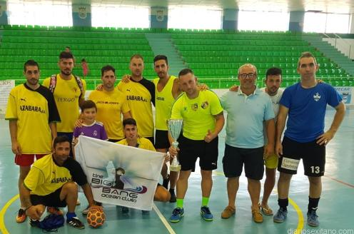 THE BING BANG OCEAN CLUB SUBCAMPEON 24 HORAS FUTBOL SALA ALMUÑECAR