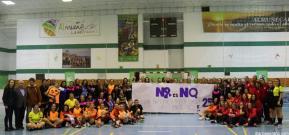 ALMUÑECAR JUGADORAS VETERANAS BALONMANO CONTRA LA VIOLENCIA DE GENERO 19