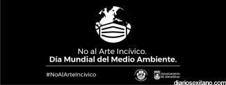 CAMPAÑA CONTRA ABANDONO MASCARILLAS DIA MEDIO AMBIENTE ALMÑECAR