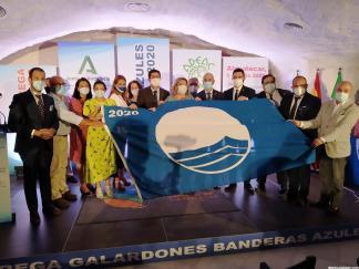 ACTO ENTREGA TRES BANDERAS AZULES PARA ALMUÑECAR 20