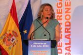 ALCALDESA ALMUÑECAR TRINIDAD HERRERA DIO LA BIENVENIDA A LOS ASISTENTES AL ACTO 20