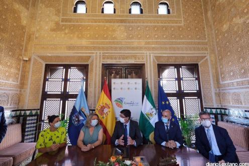 BIENVENIDA ALCALDESA Y CONSEJERO DE TURISMO JUAN MARIN 20