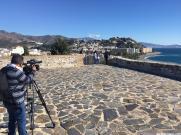 GRABACION CASTILLO SAN MIGUEL ALMUÑECAR SALUD AL DIA CANA SUR TV 5 20